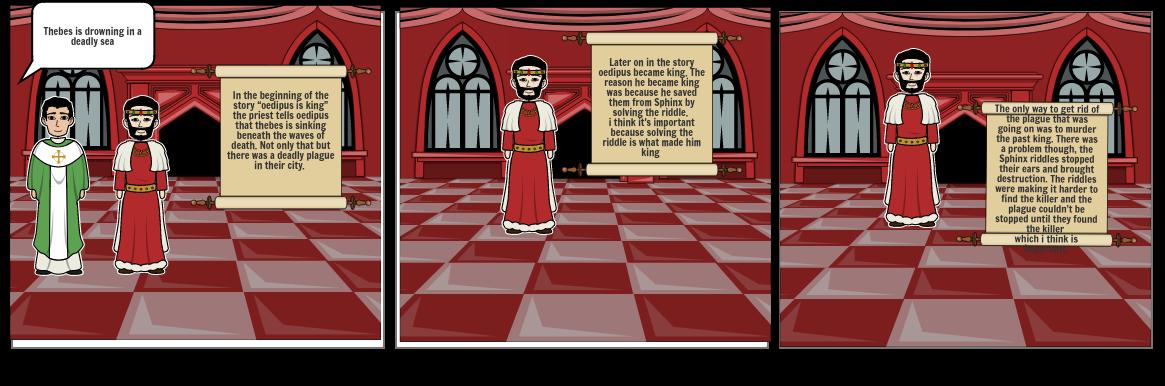 Oedipus storyboard