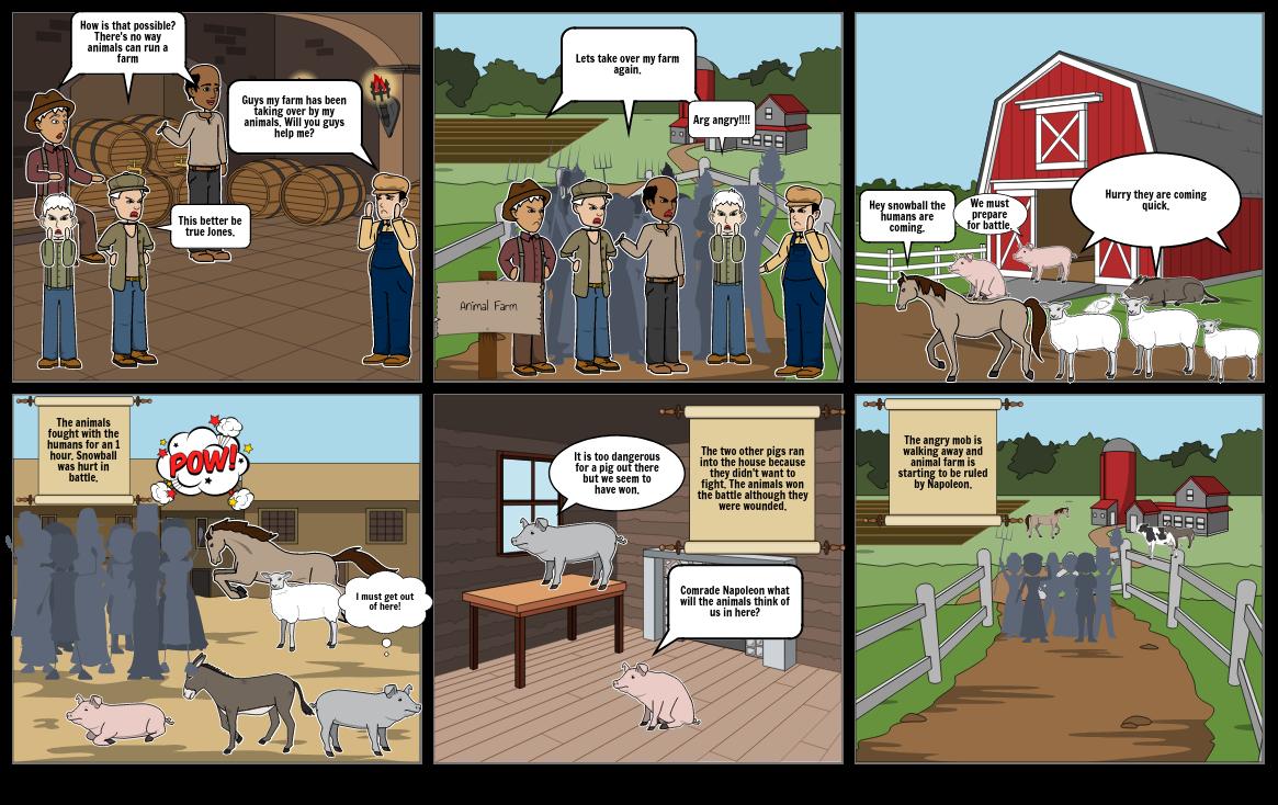 Animal Farm Battle
