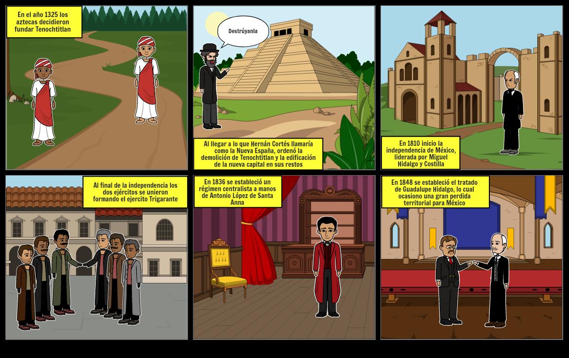 Comic de la historia de México