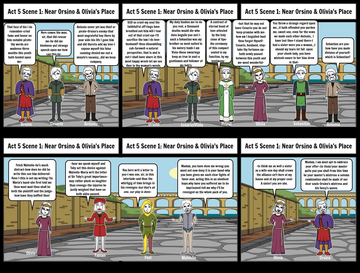 Storyboard Act 5