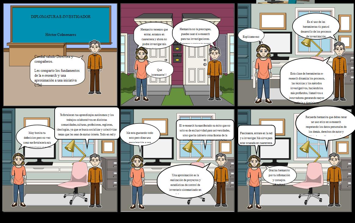 colme e-investigador e-research