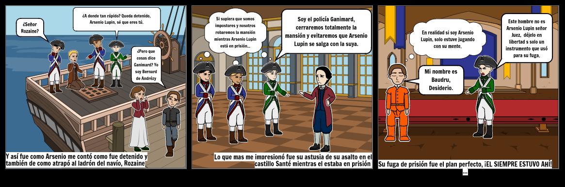Arsenio Lupin Historieta