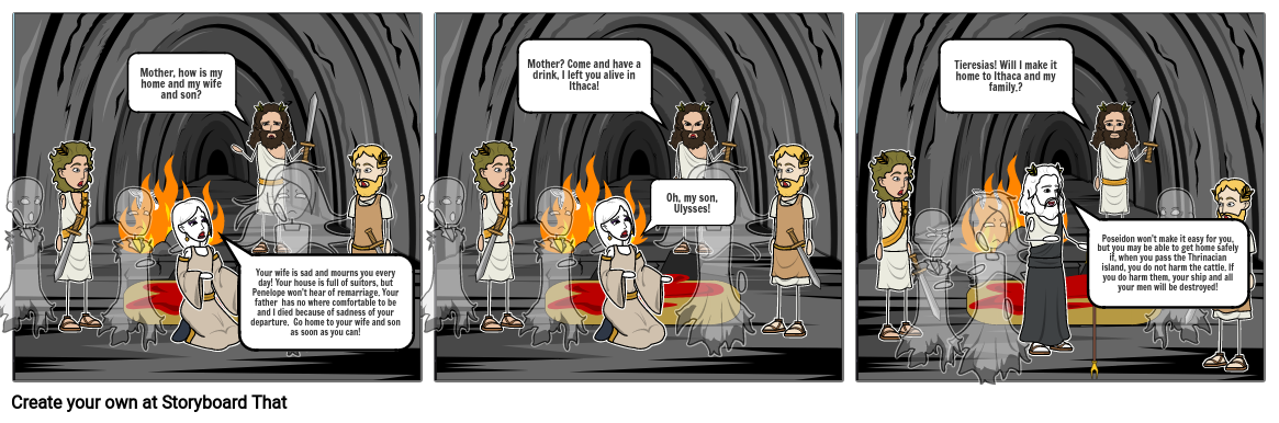Ulysses in the Underworld 2