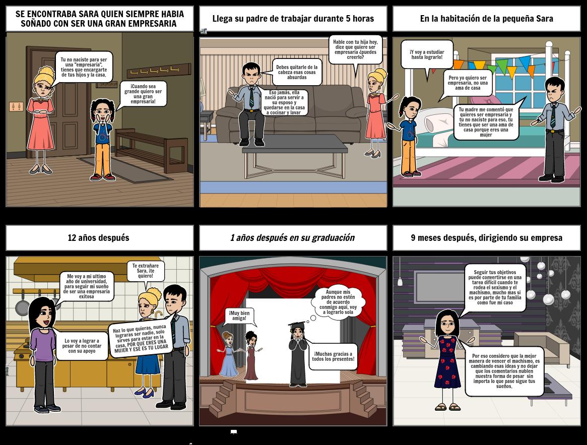 COMBATIR EN MACHISMO Y EL SEXISMO - EQUIPO 3