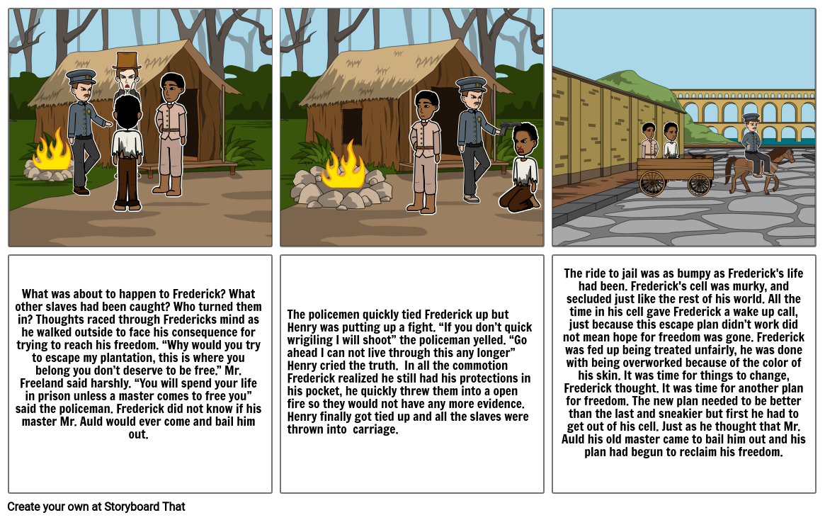 Escaping slavery part2