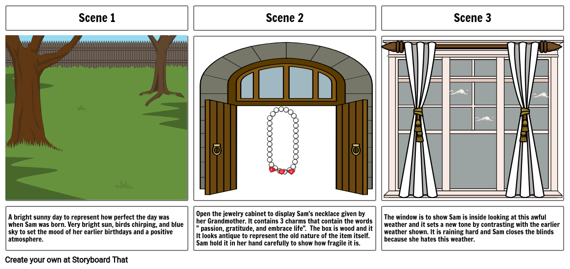 The Candle ( Storyboard)