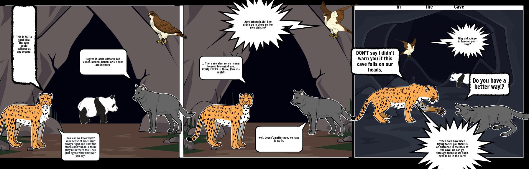 spirit animals - cave