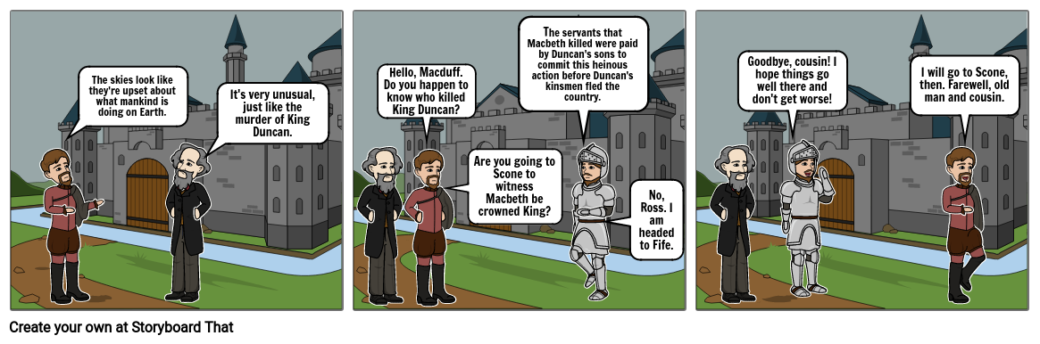 Act 2 Scene 4 of Macbeth