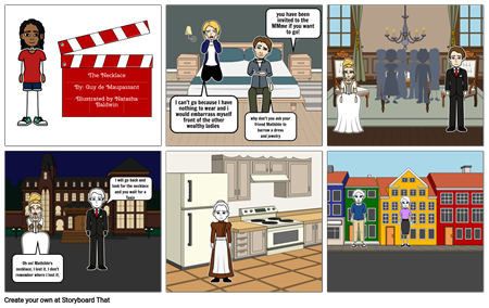 The Necklace Storyboard