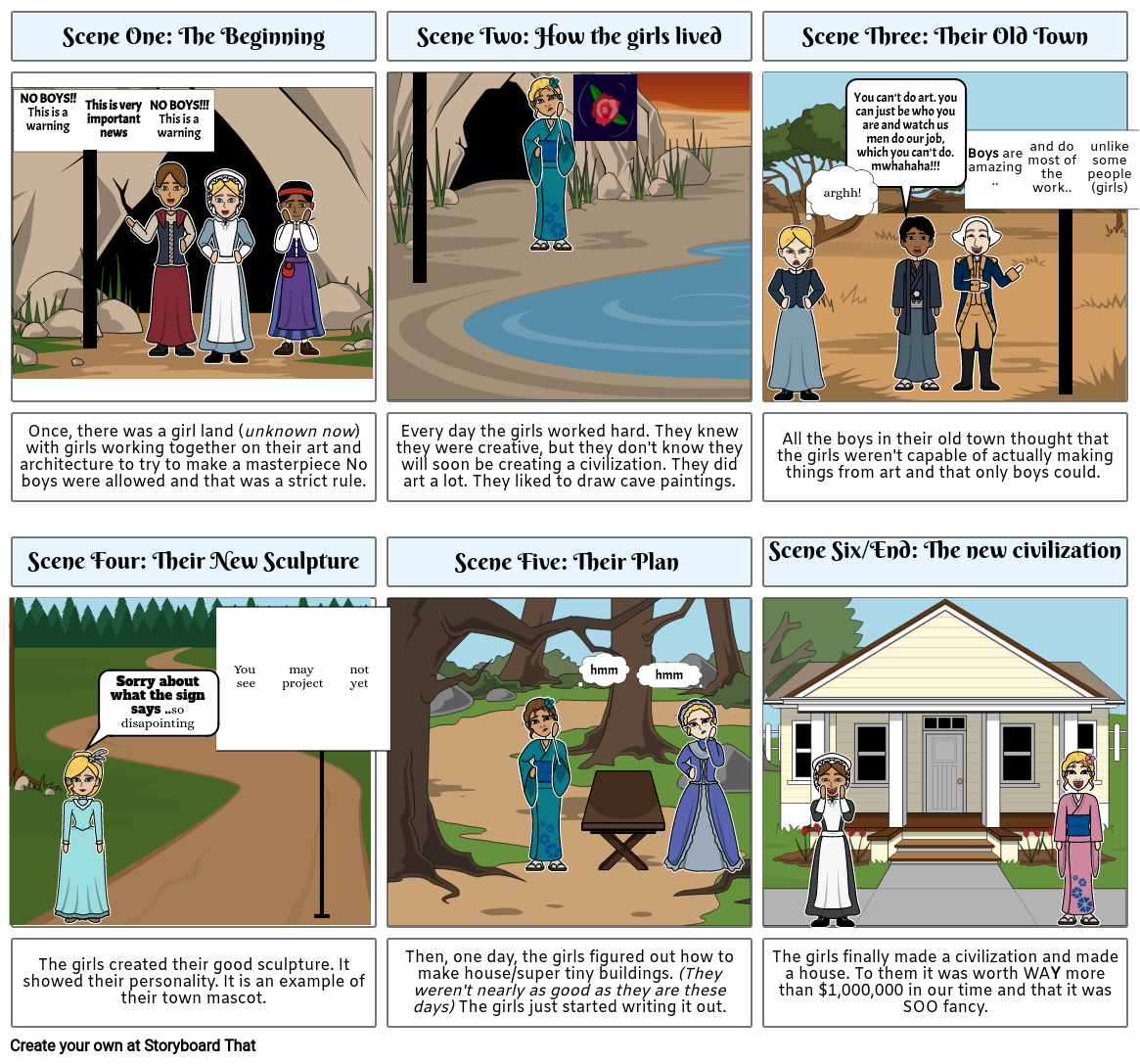 Story Board/Movie Trailer  Social Studies