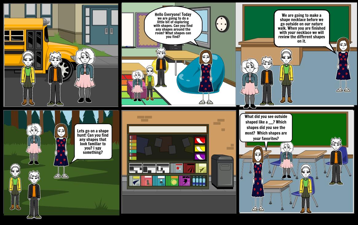 My Story Board 5-E Lesson Plan