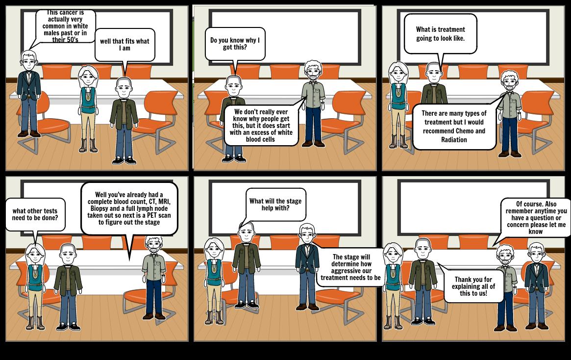 Gracie Grady Cartoon strip