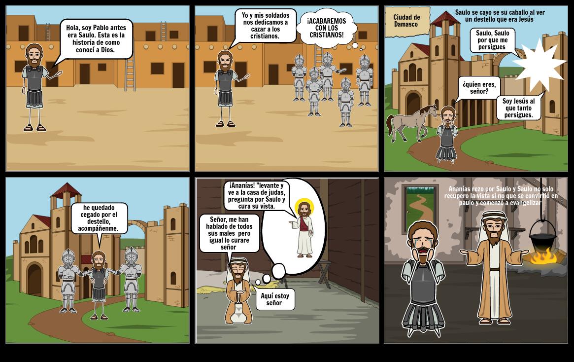 la conversión de Saulo