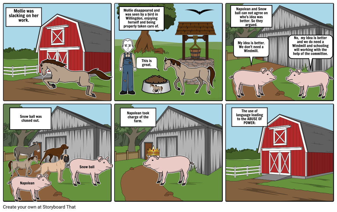Chapter 5 of Animal Farm