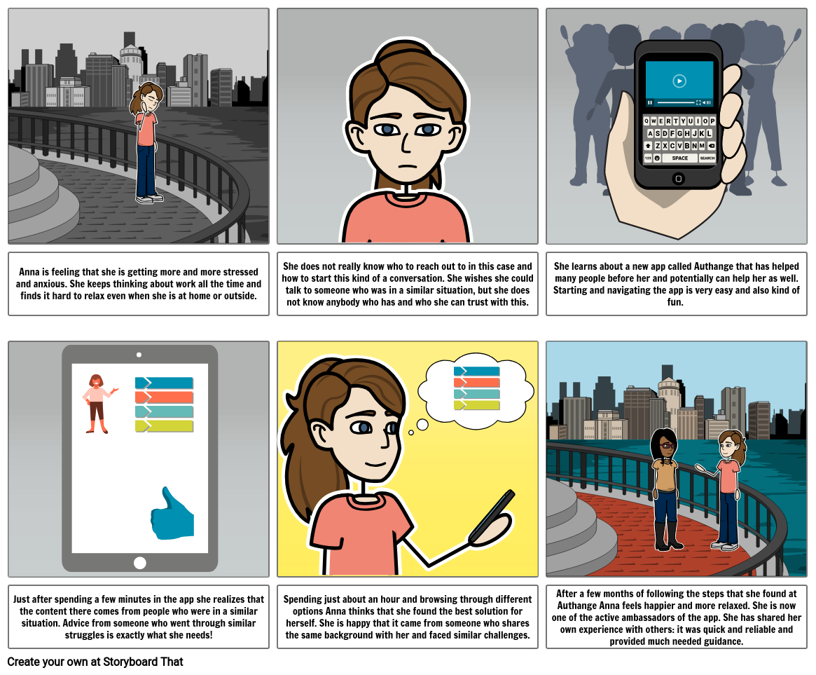 UX-UI Intro course storyboard