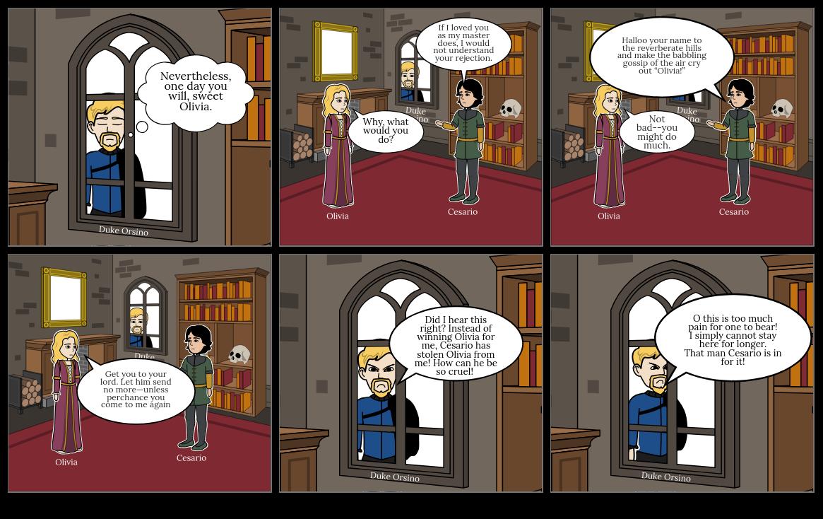 Twelfth Night - Act 1 Scene 5 - Part II