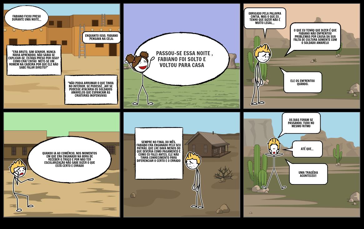 Storyboard vidas secas