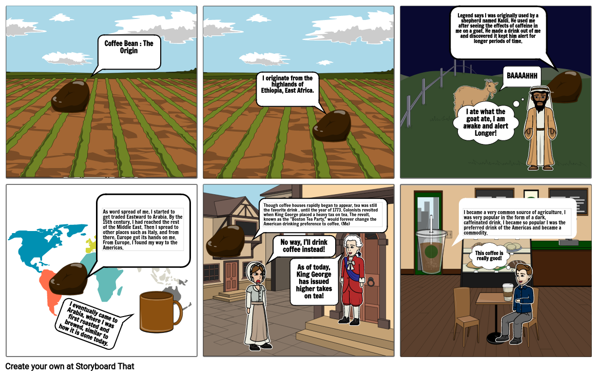 Coffee Bean : The Origin