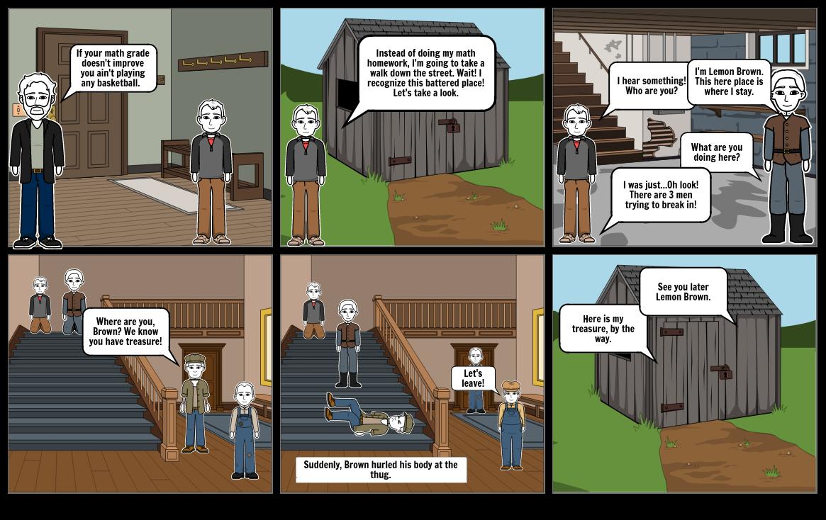 The Treasure of Lemon Brown Storyboard by 82184162
