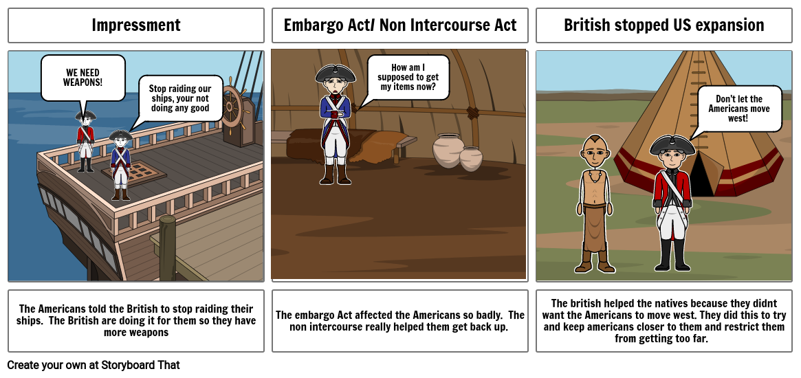 Cause and Effect of War of 1812