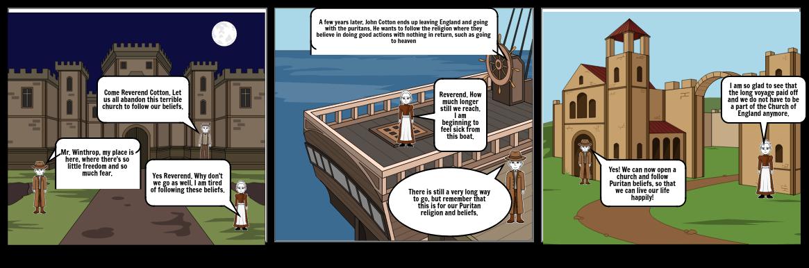 Puritan Religion: John Cotton: History Project