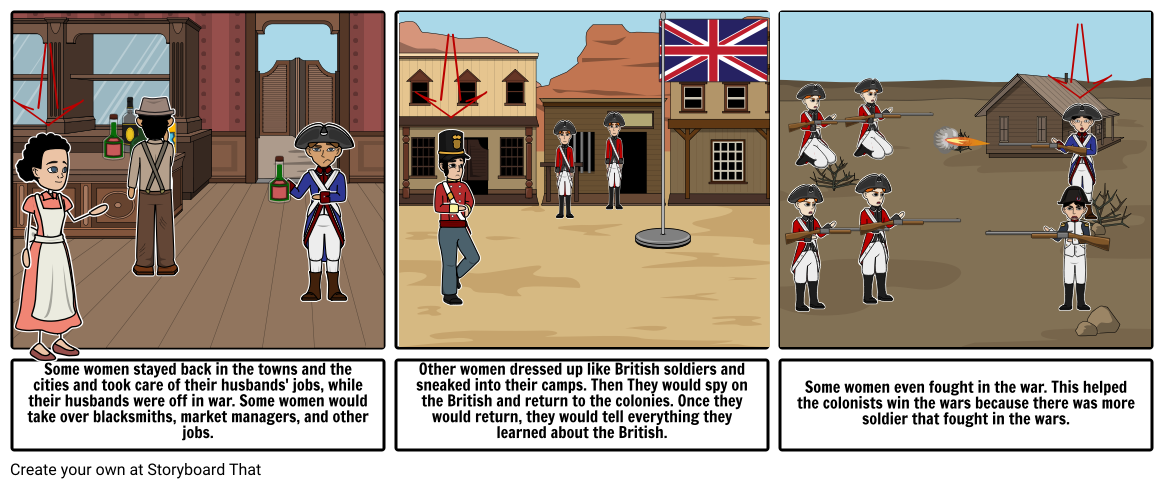 Women in the American Revolution War