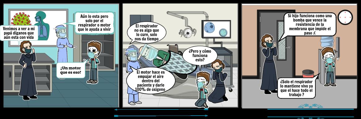 maquinas en pacientes covid