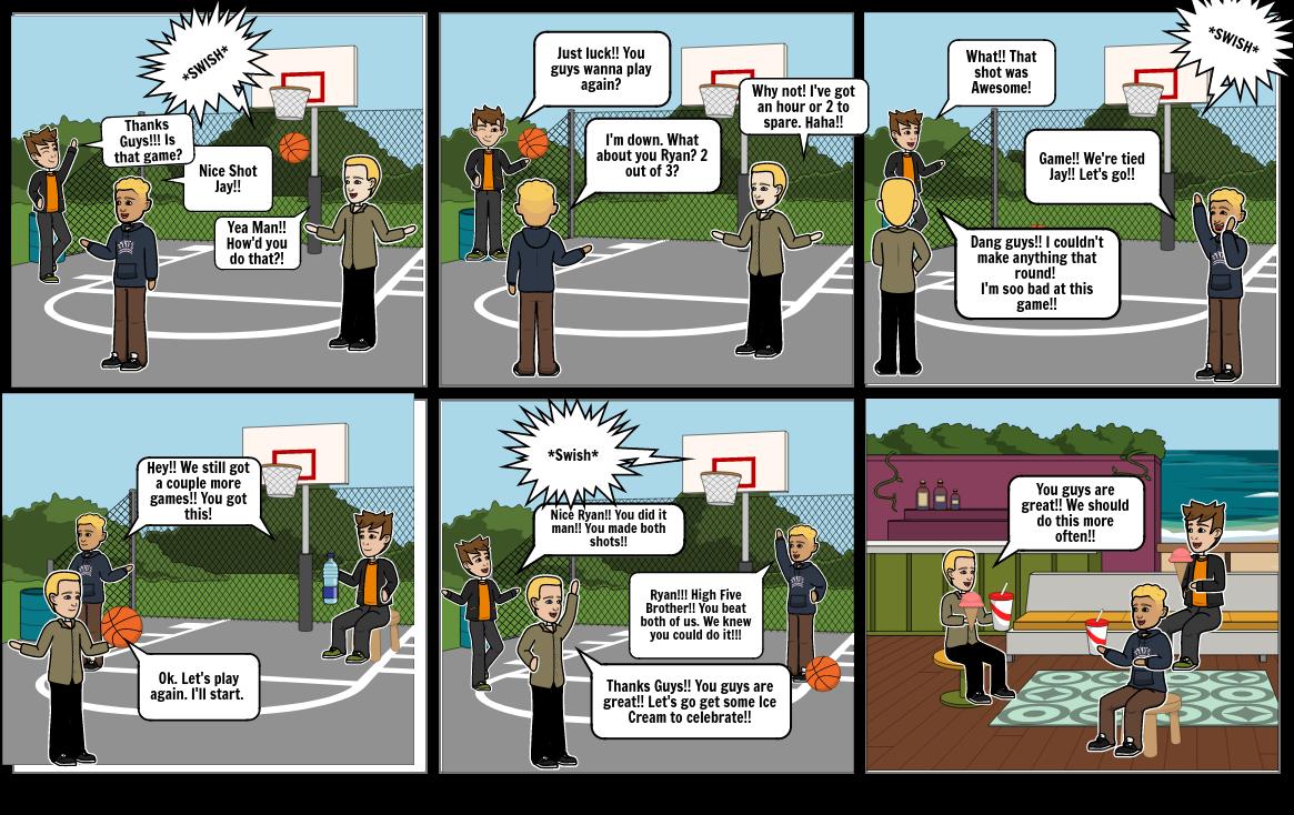 PE SportsMan Comic Strips