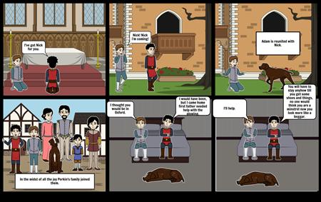 Adam of the road comic strip