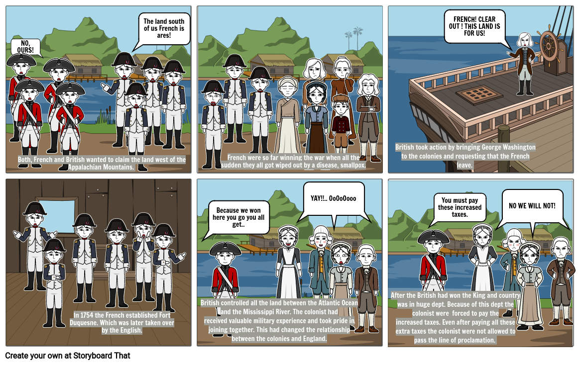 Social Studies-French and Indian War