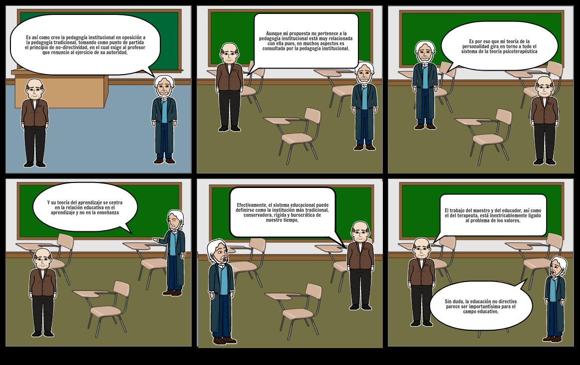 La autogestión pedagógica y la no directividad en la educación
