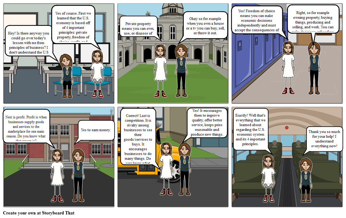 Principles of Business 1-3 Storyboard