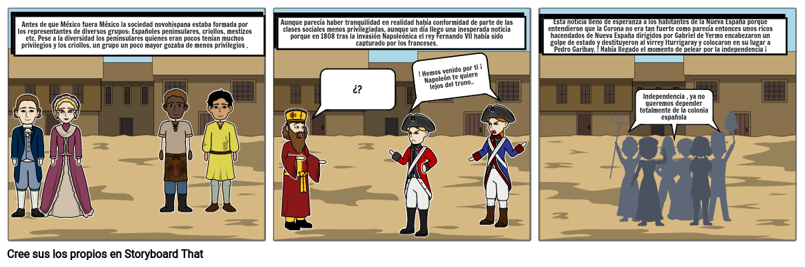 Historieta de historia