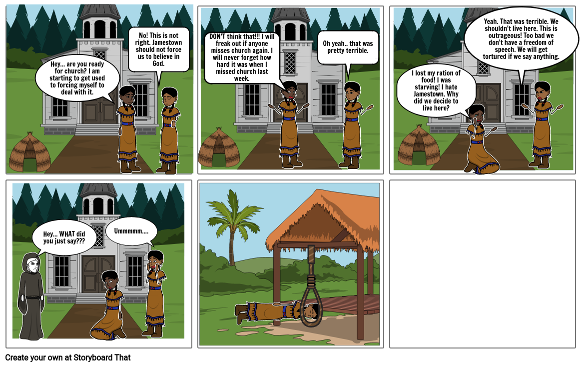 Native American Comic