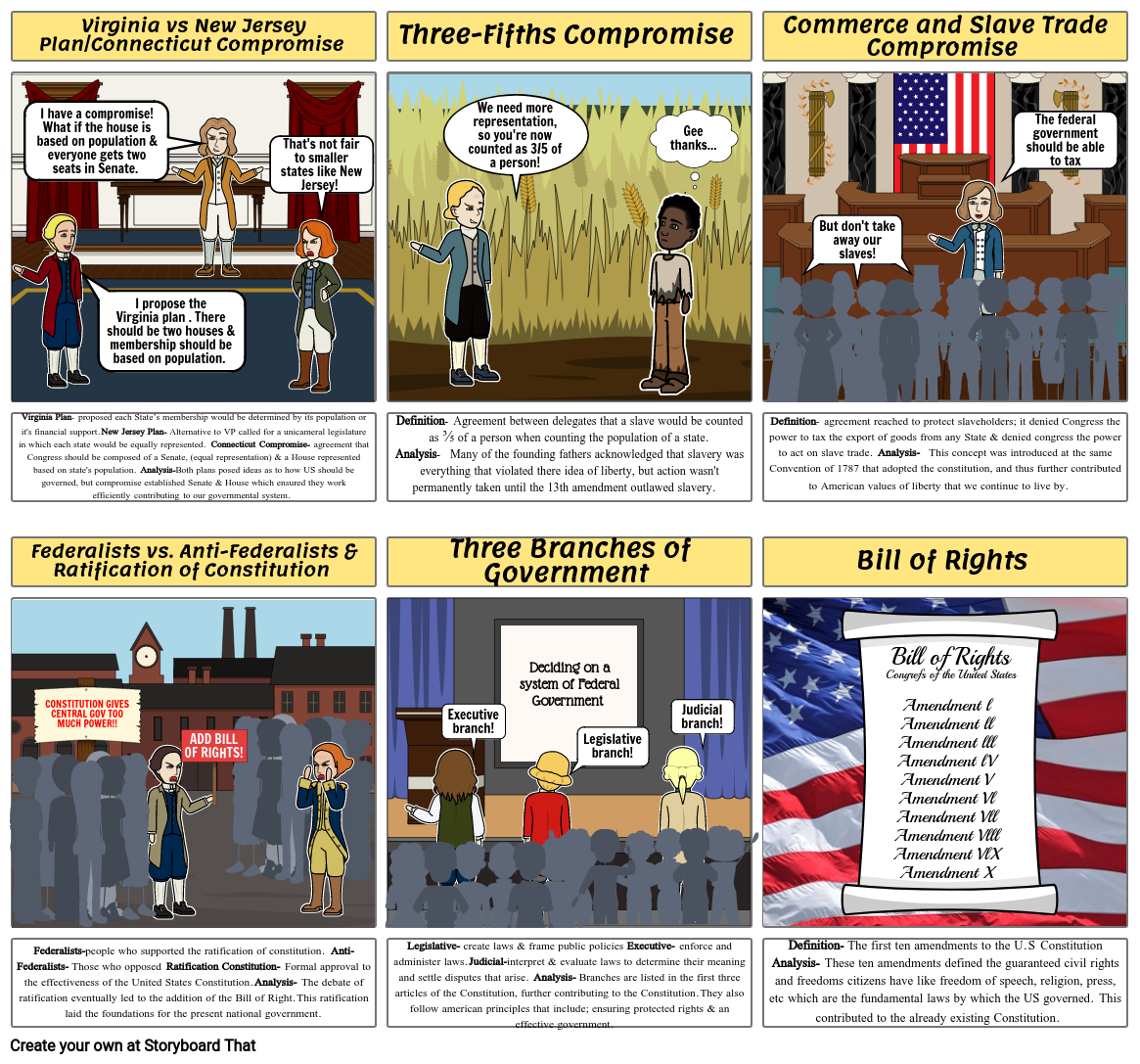 Constitutional Storyboard Project (Part 2)