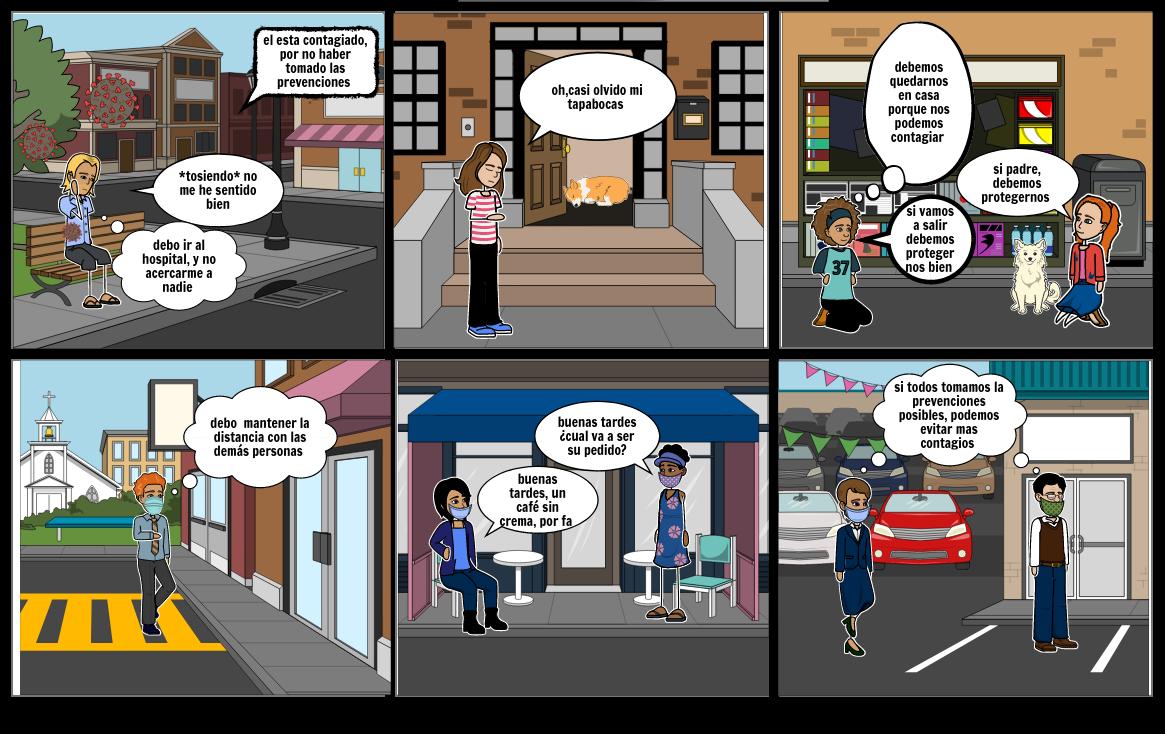 comic sobre el coronavirus