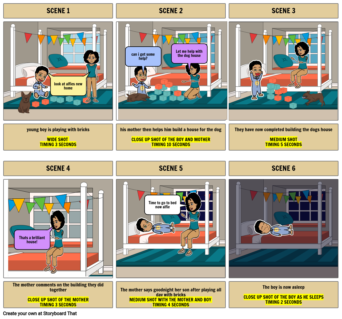 toy storyboard for ict