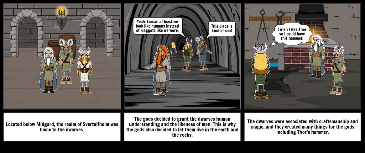 The Realm Of Svartalfheim