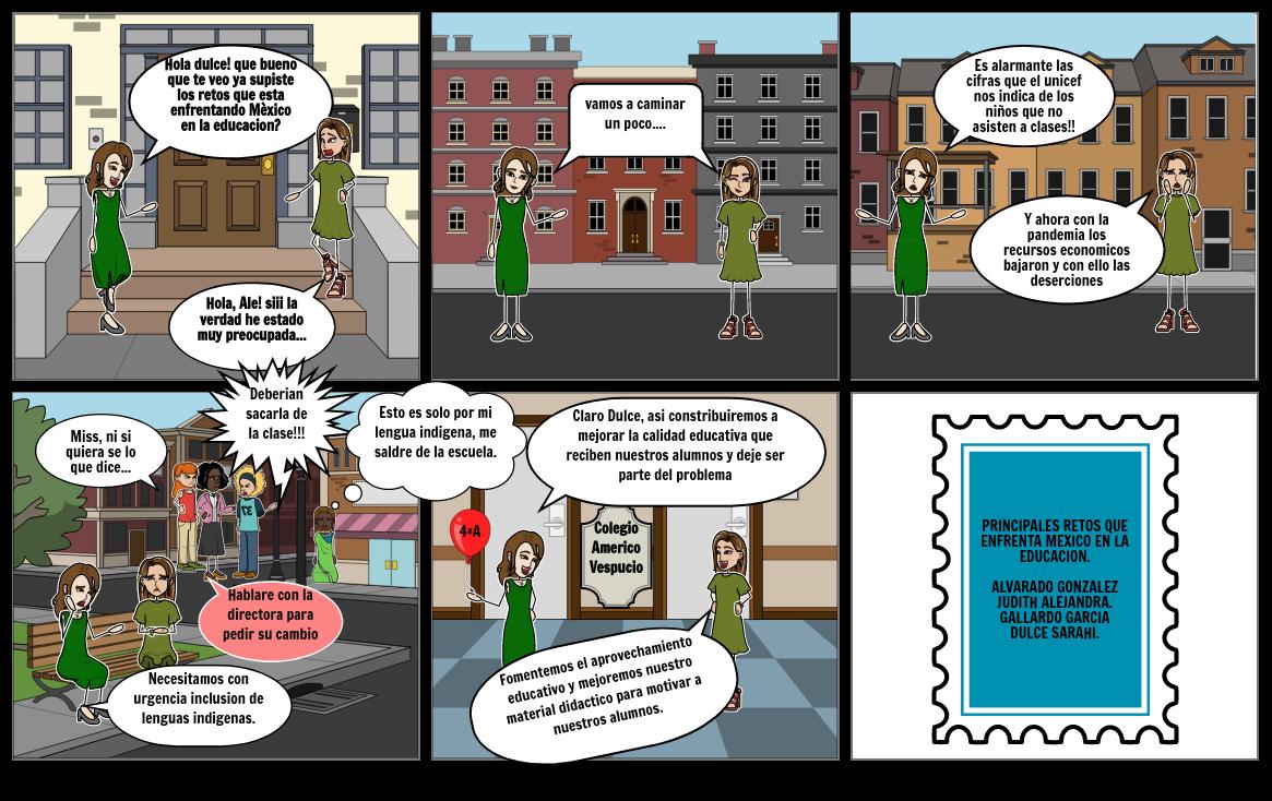 Principales retos que enfrenta Mèxico en la educaciòn