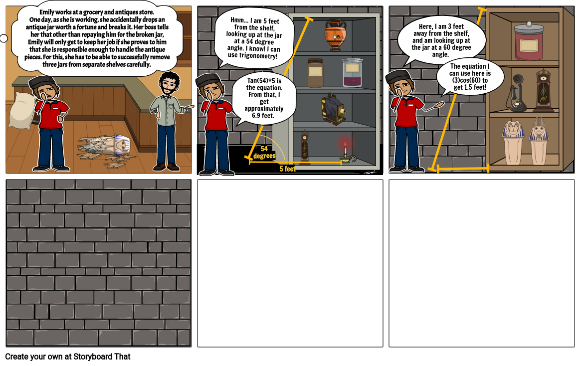 Proyecto PS_2 Geometry Comic Strip Project