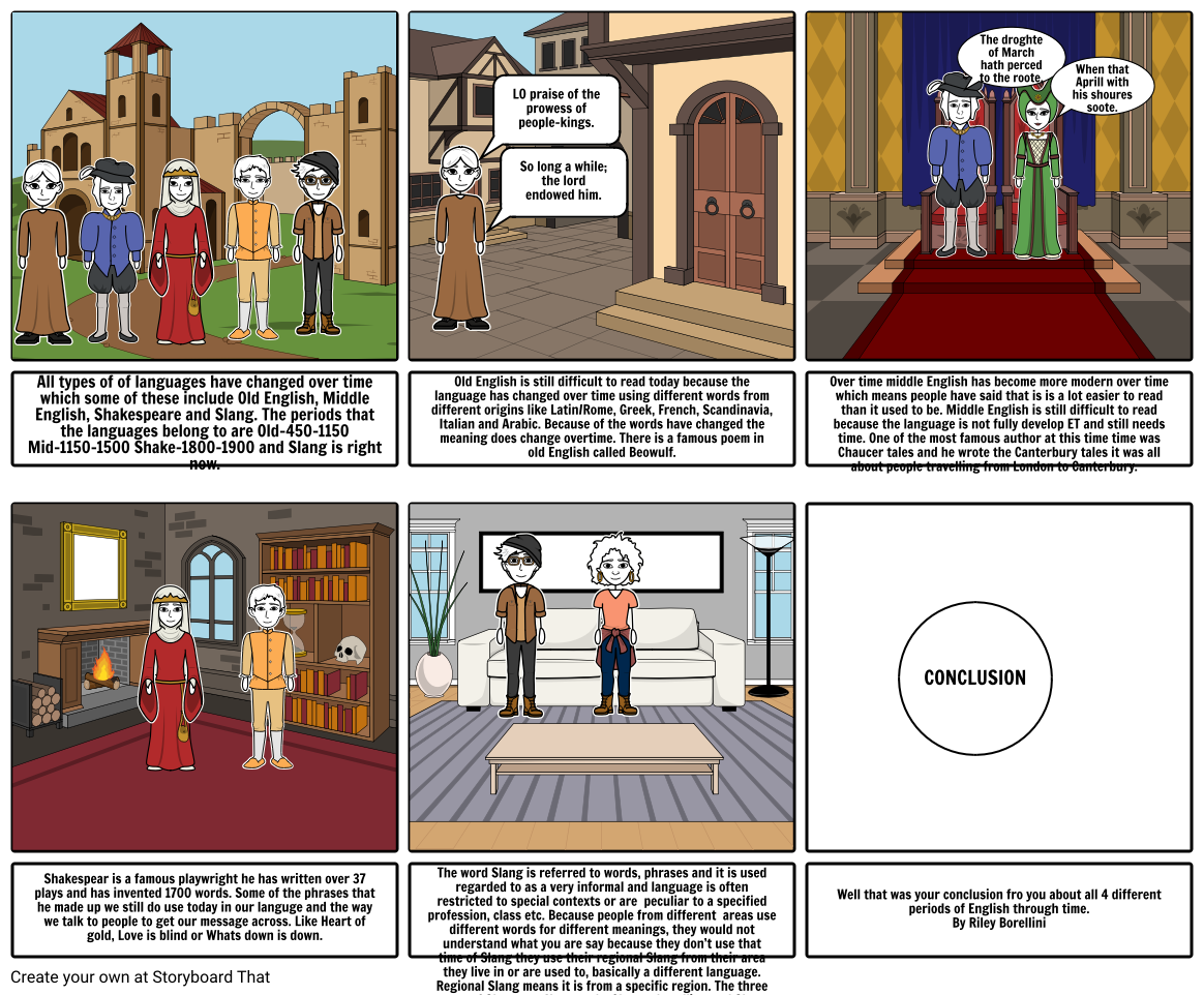 history english Storyboard by 8d763f7283007