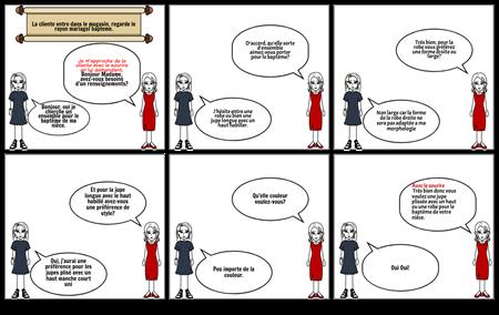 dialogue vente