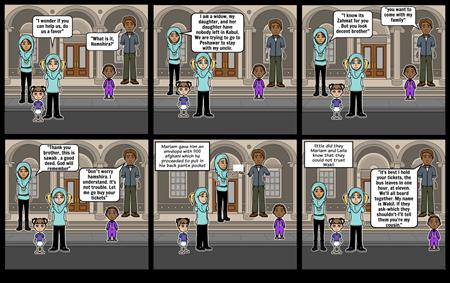 Freshman Seminar- Chapter 36 scene