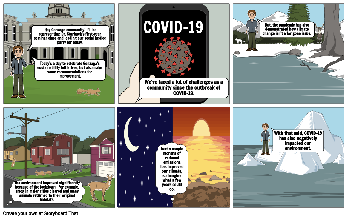 COVID-19 Climate Change