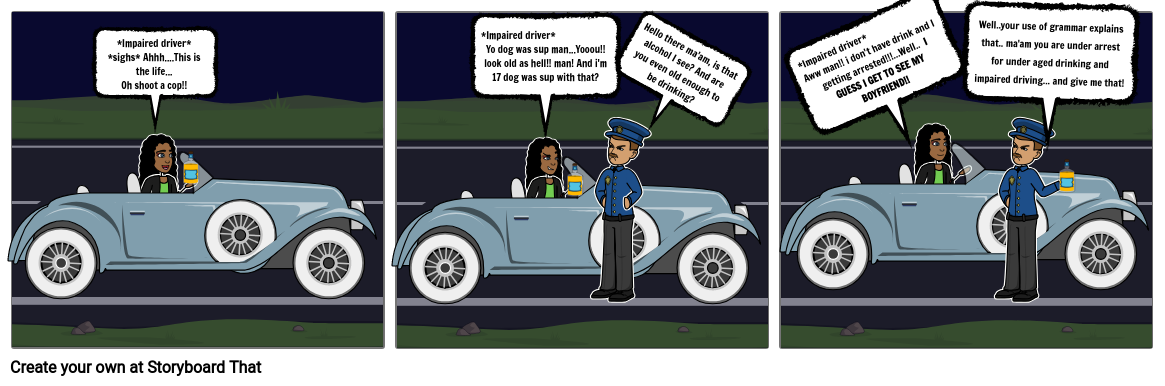 Driving at Night Impaired and Under aged