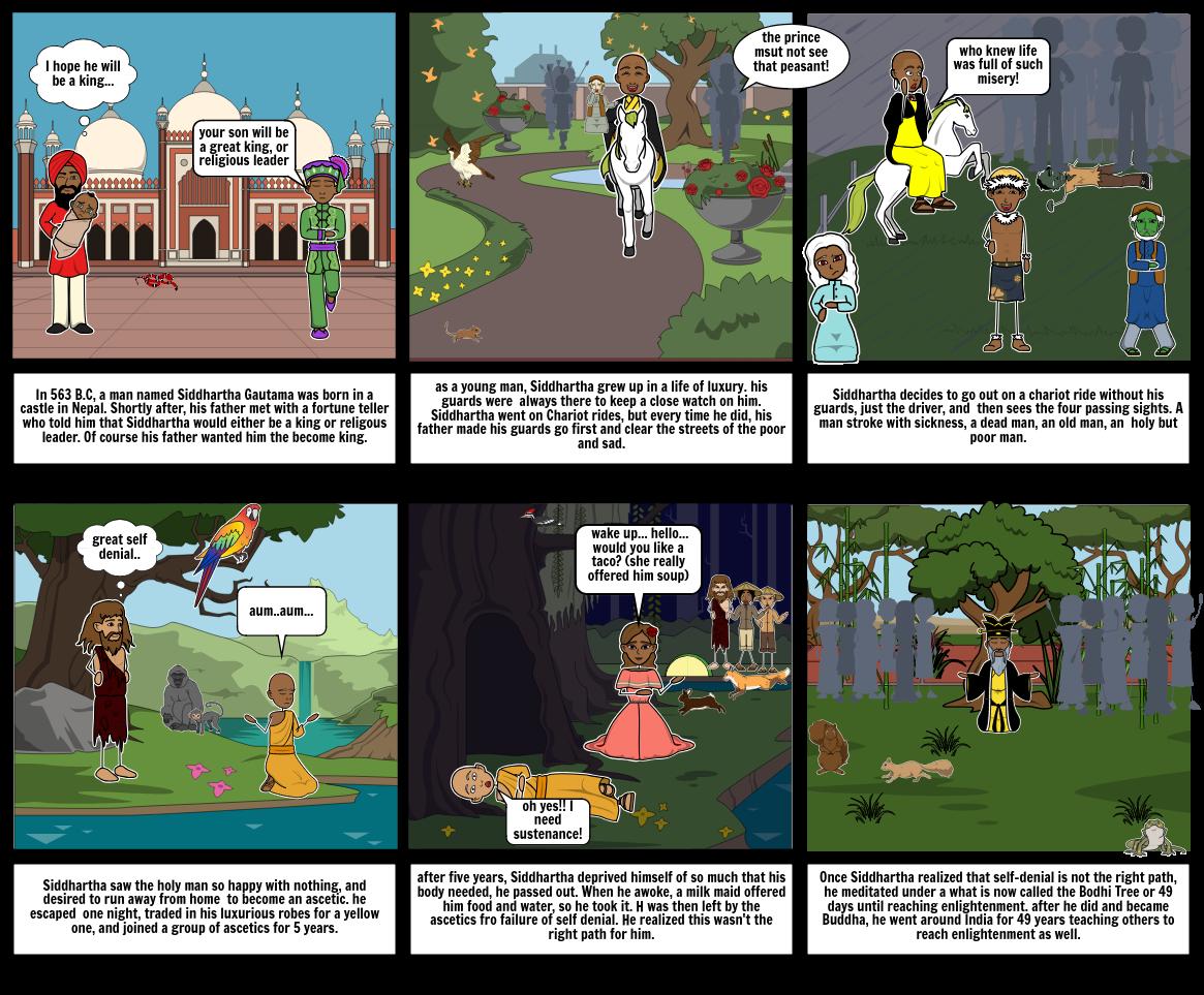 The story of Siddhartha Gautama(Buddha)