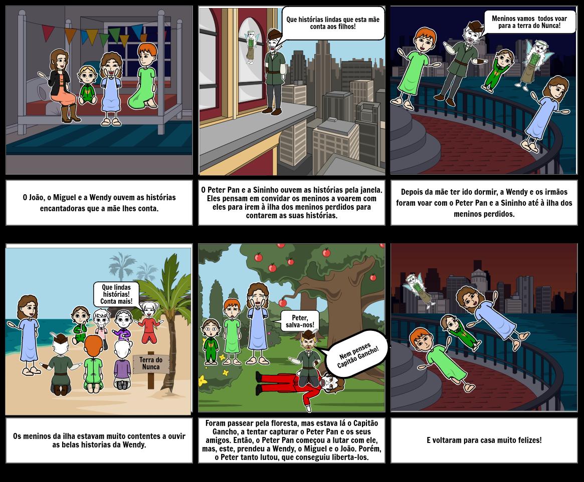 As Aventuras do Peter Pan e da Wendy