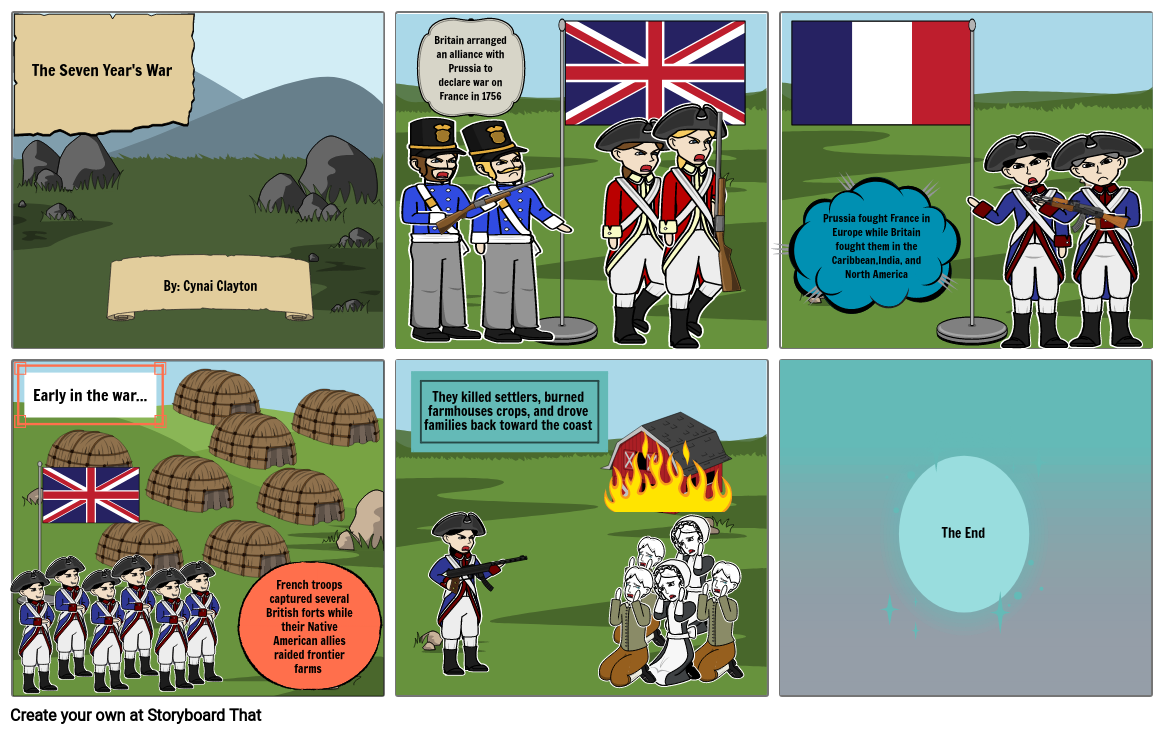 The French and Indian War project