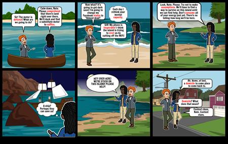 Vocabulary Comic Strip