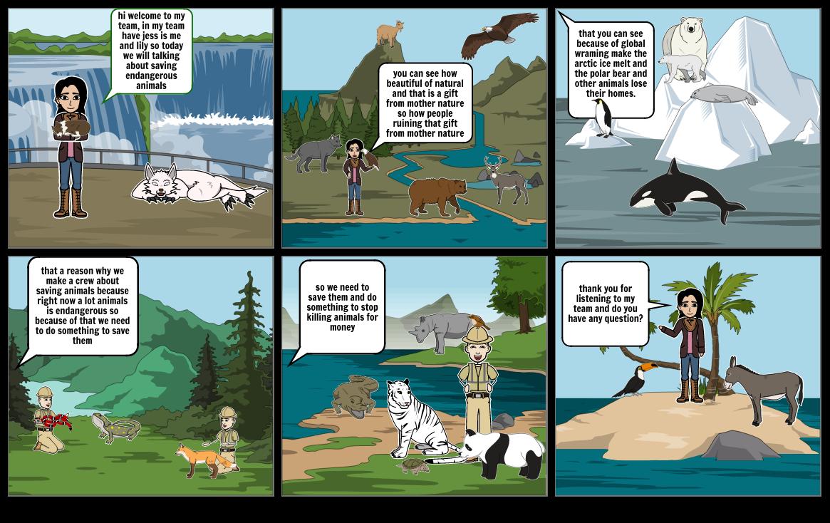 saving Endangerous Animals